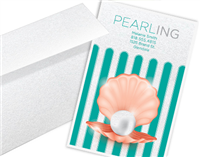 Pearl Metallic Business Cards